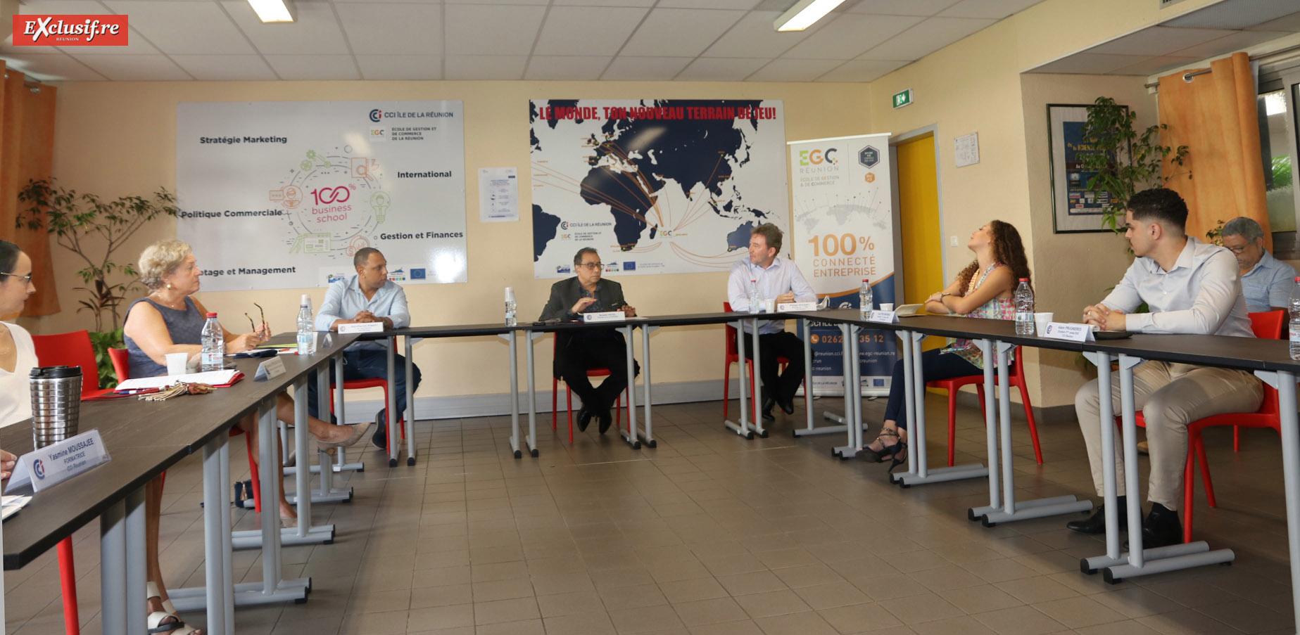 La conférence de présentation de ce projet a eu lieu à l'EGC