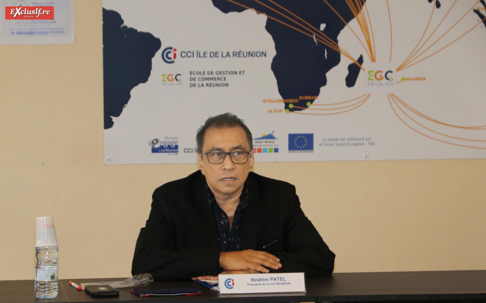 Ibrahim Patel, président de la CCIR