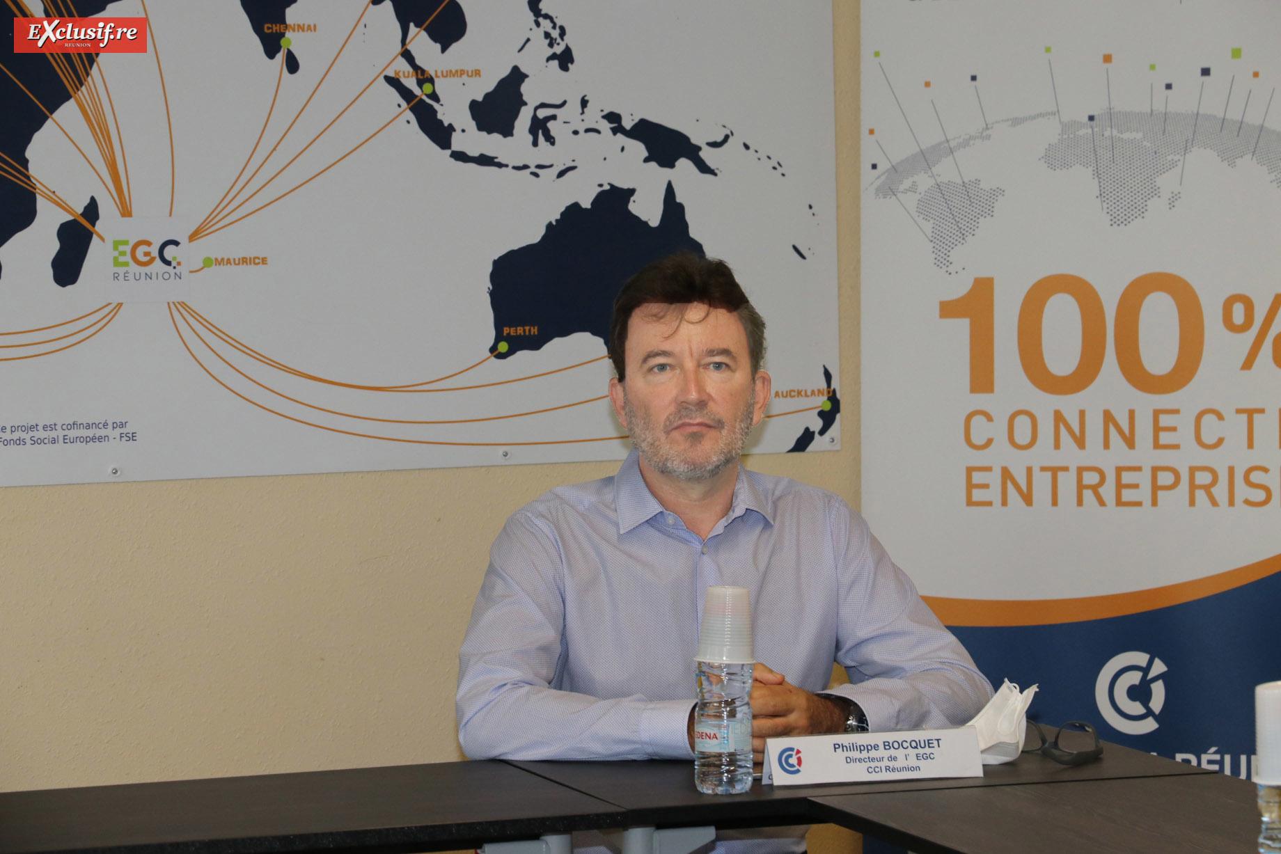 Philippe Bocquet, directeur de l'EGC Réunion
