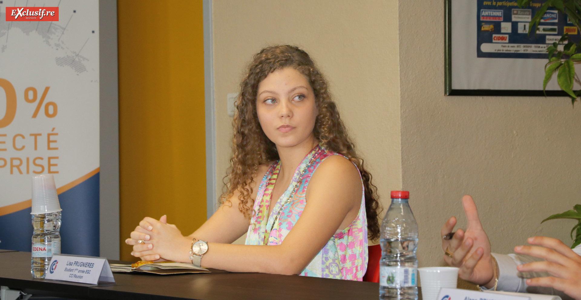 Lisa, une étudiante EGC qui va effectuer le stage