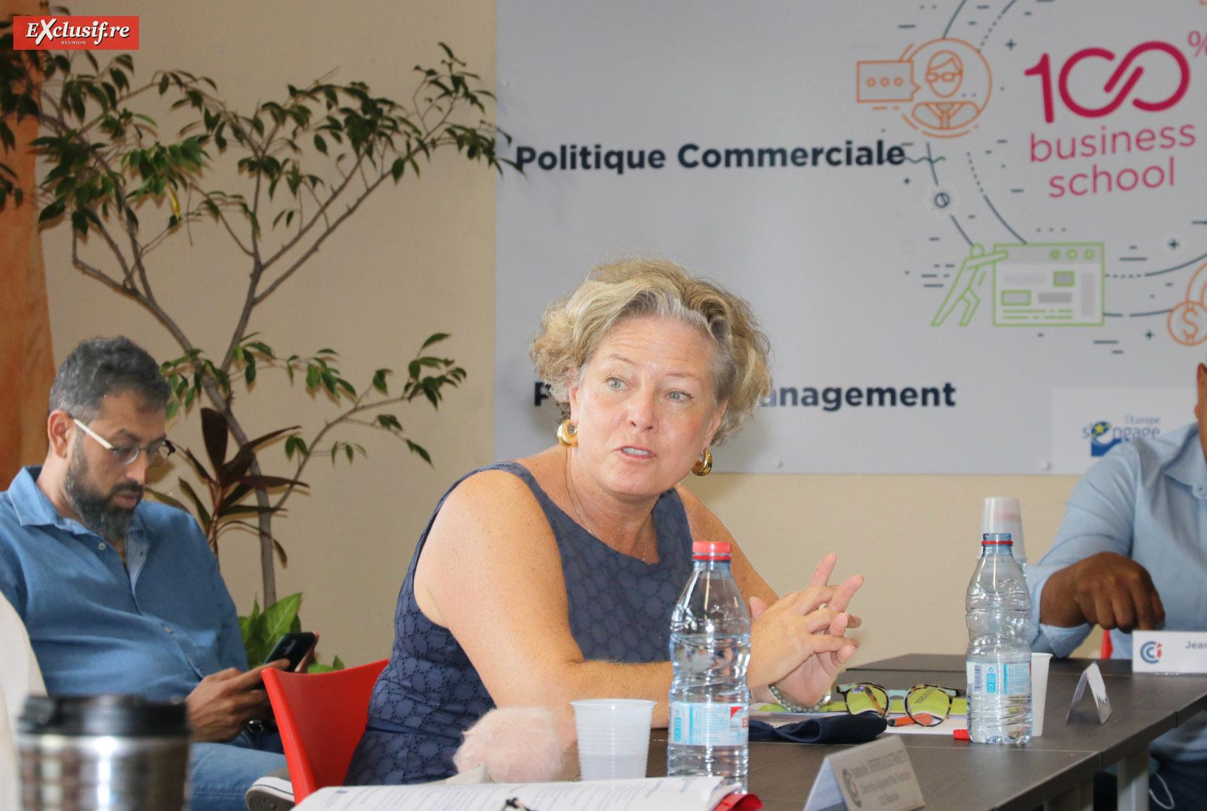 Marie-Claude de Munari, directrice Pôle formation à la CCIR