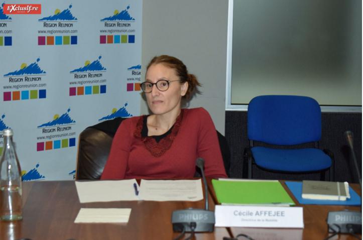 Cécile Affejee, directrice du service Mobilité à la Région