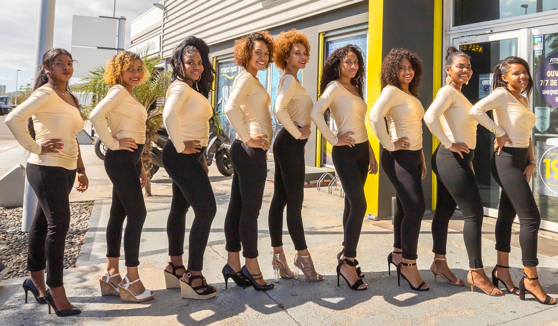 Les 9 candidates Miss Le Port 2020