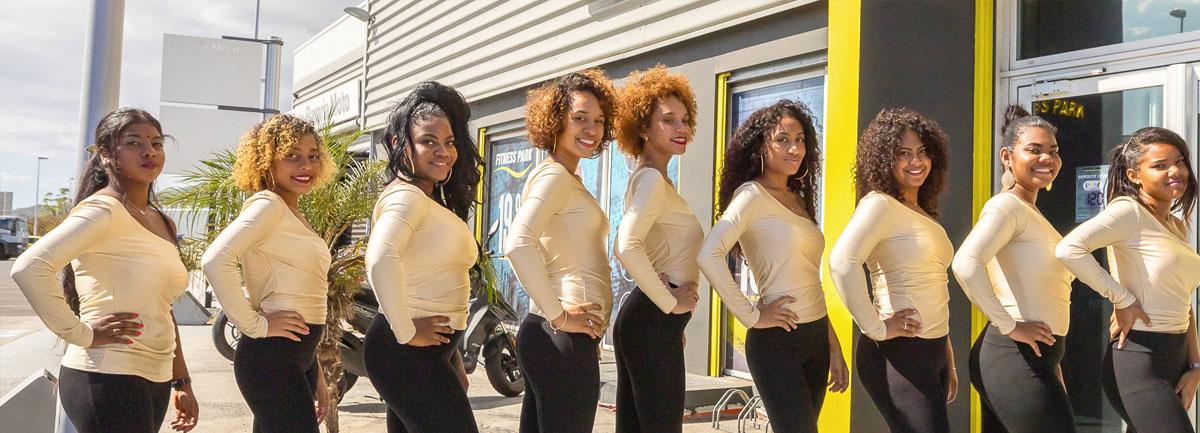 Les 9 candidates Miss Le Port 2020: photos