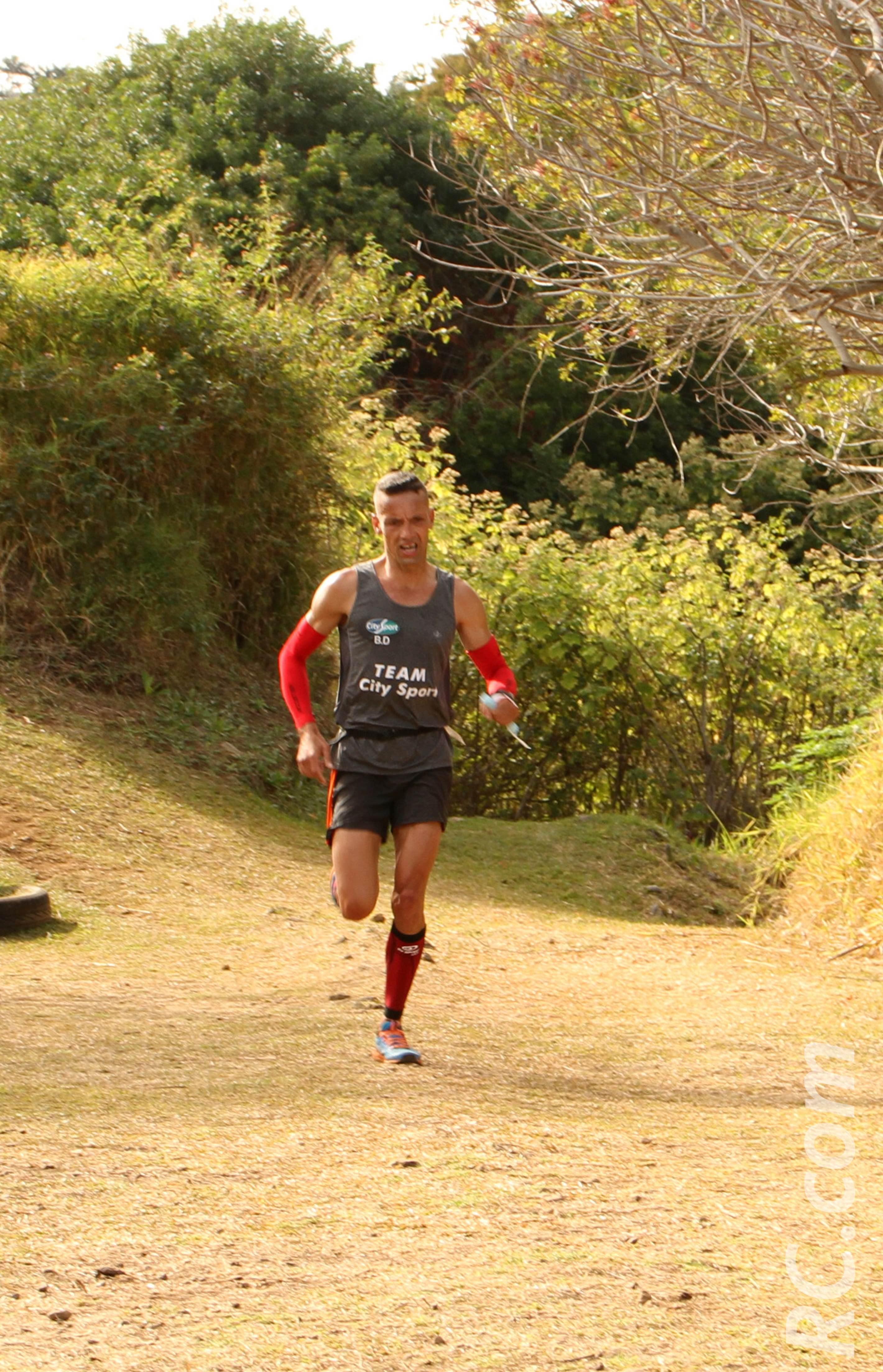 Didier Barret dominateur sur les 25 km, sous les couleurs de la Team City Sport