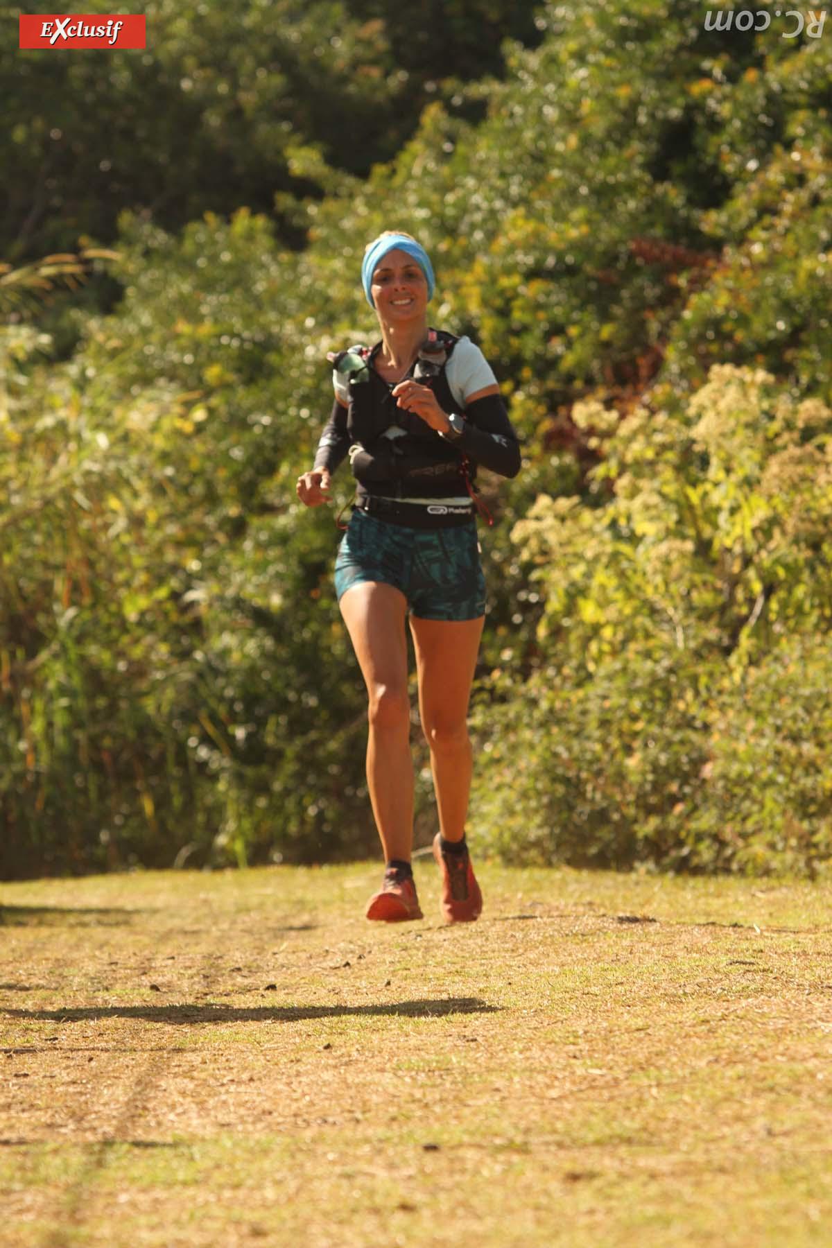 2ème des 25 km, Eugénie Mareux disputait son dernier trail à La Réunion avant de quitter l'île