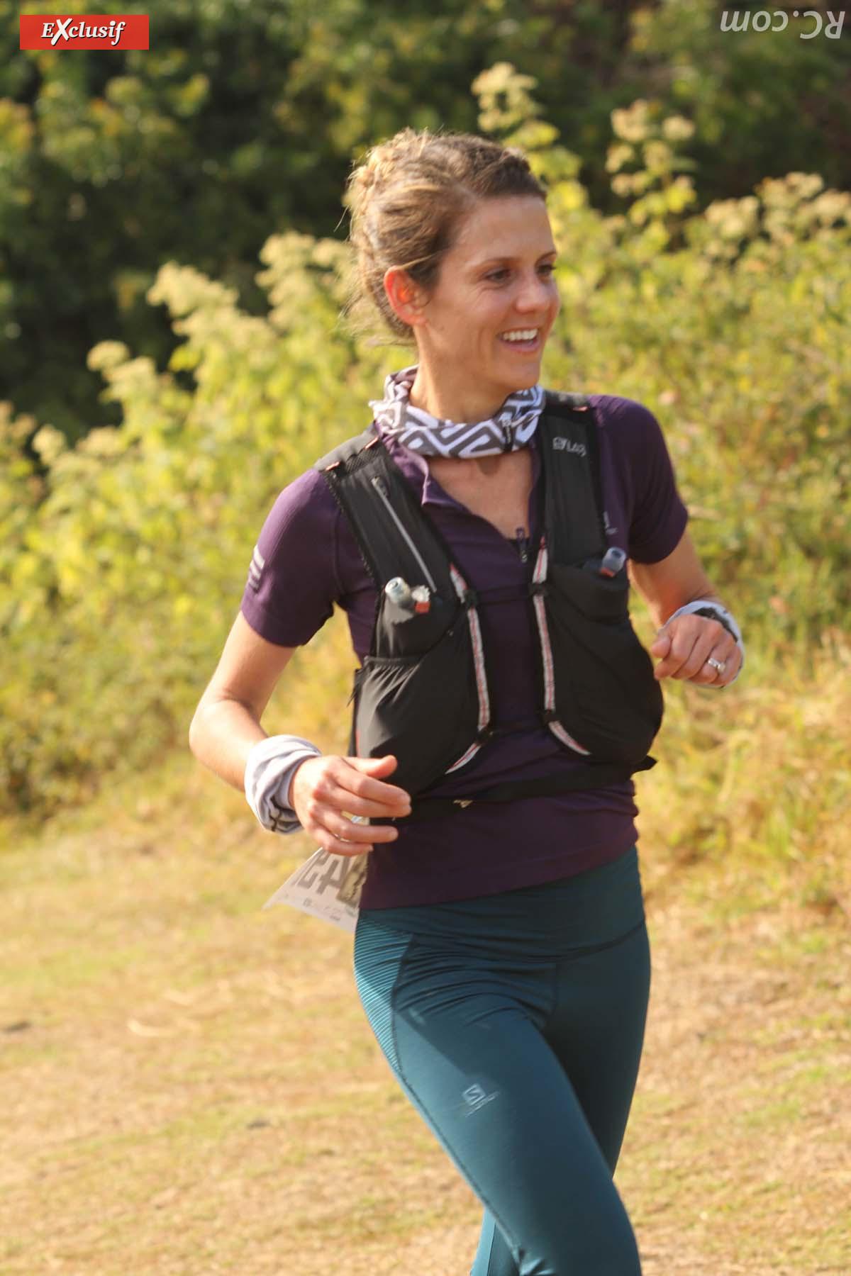 Aude d'Abbadie médaillée d'argent sur les 25 km