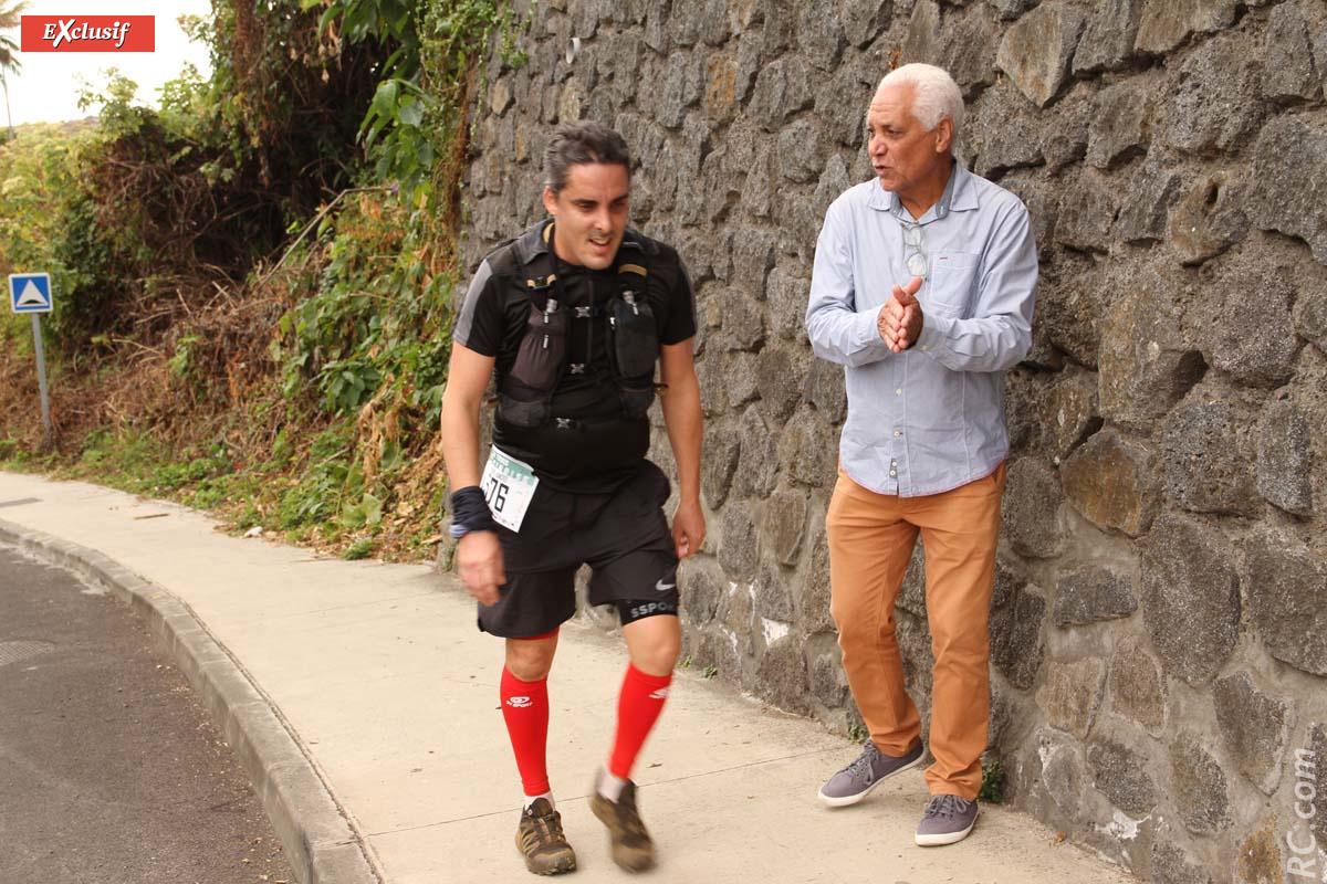 Avec les encouragements de Jean-Claude Prianon, président de la Ligue Réunionnaise d'Athlétisme
