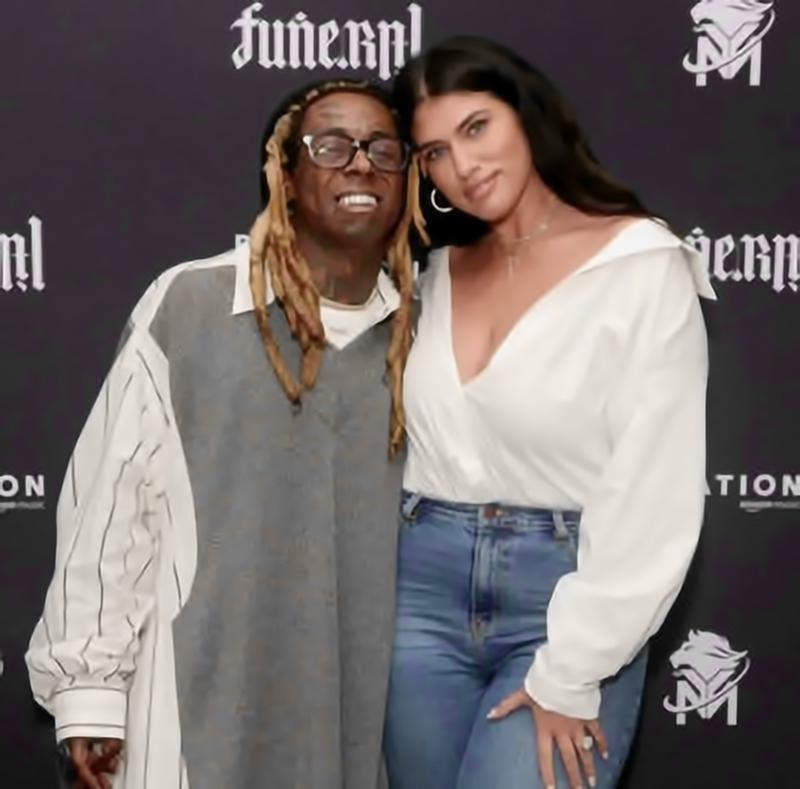 Elle est sortie quelques mois avec le rappeur Lil Wayne