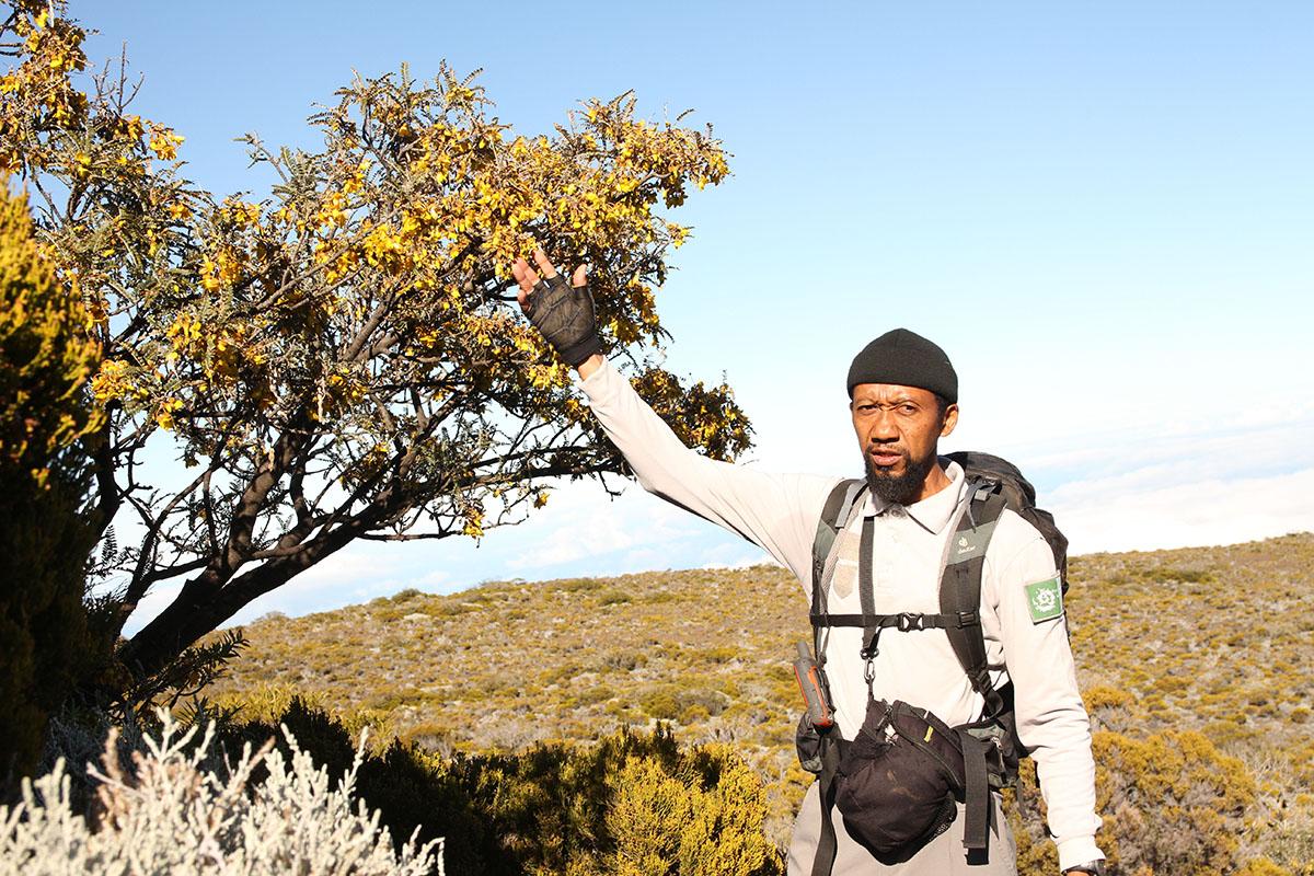 Rodolphe Blin, fin connaisseur de la biodiversité locale et amoureux inconditionnel de son île
