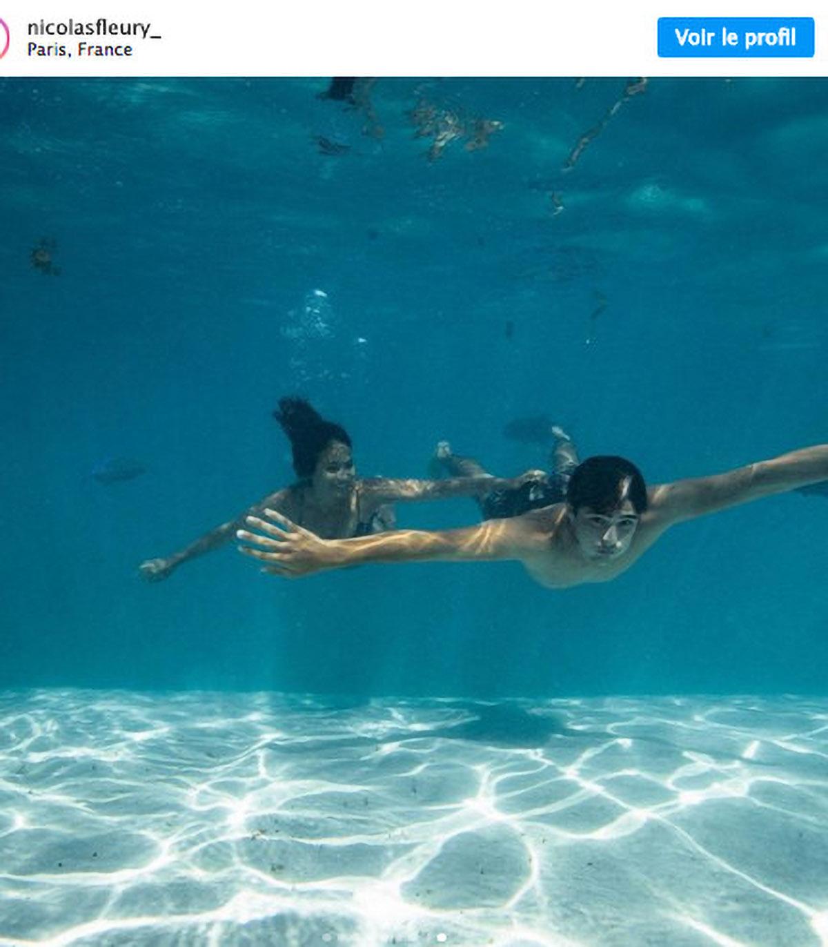 Dans les eaux de la Polynésie