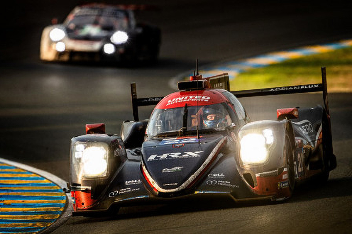 En LMP2, victoire d'United Autosports #22 (Oreca 07-Gibson) de Hanson-Albuquerque-Di Resta