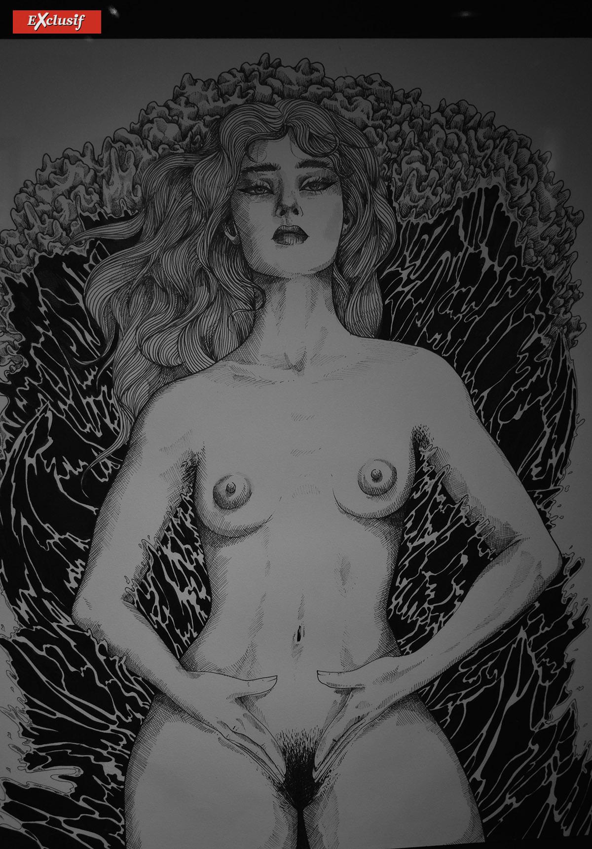 La nudité fait partie de l'univers de cette expo