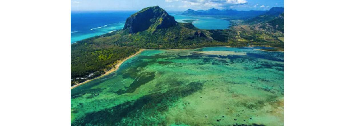 Les vacances habituelles à l'île Maurice c'est pas pour demain...