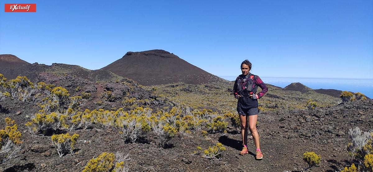 Le volcan, incontournable lors de ces sorties quotidiennes