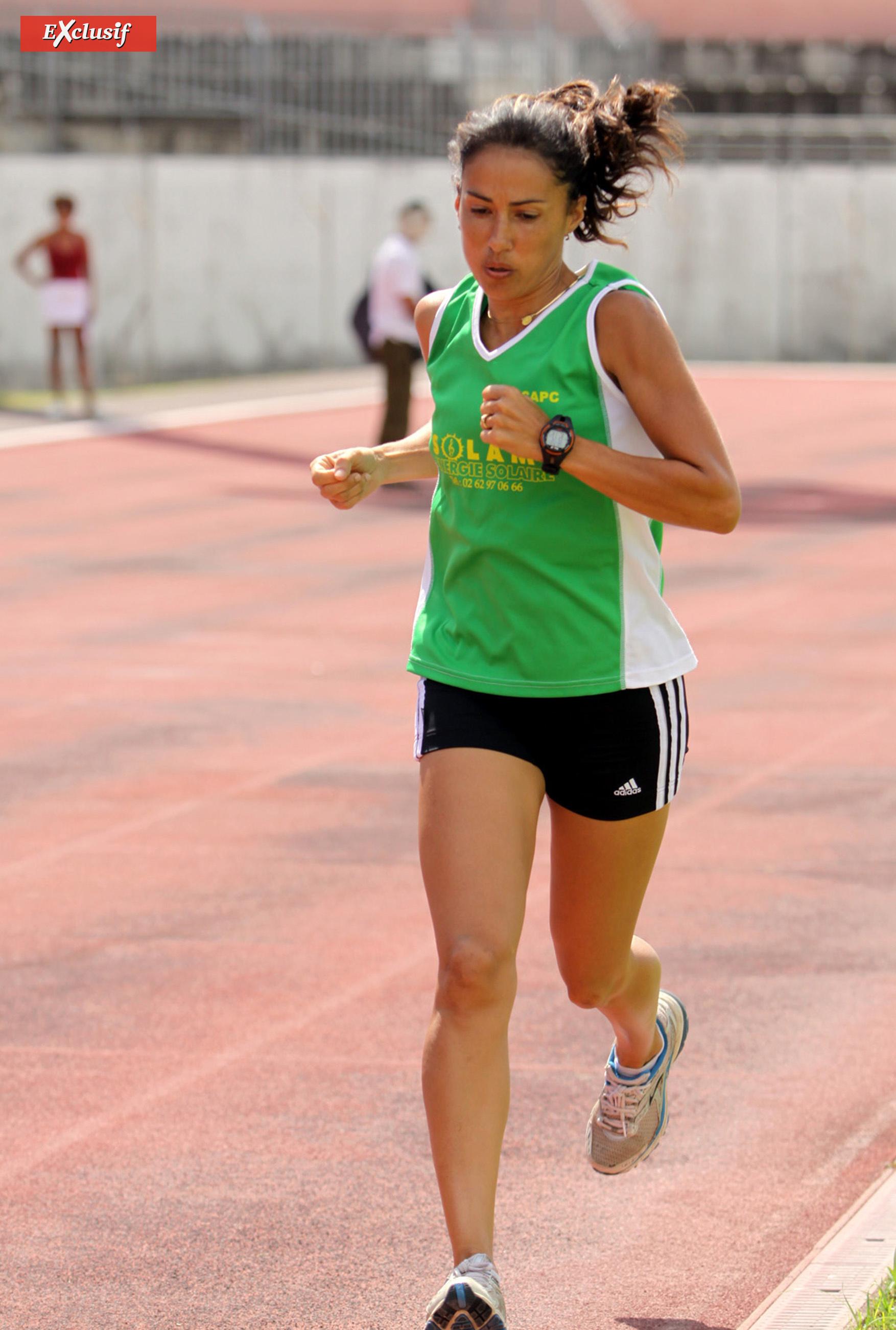 Isabelle Laude a porté haut les couleurs du CAPC lorsqu'elle était encore à La Réunion