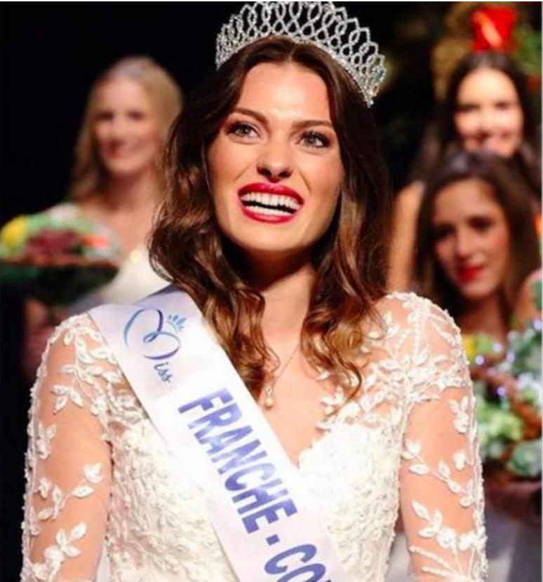 Anastasia Salvi aura été Miss Franche-Comté 2020 pendant 3 jours...