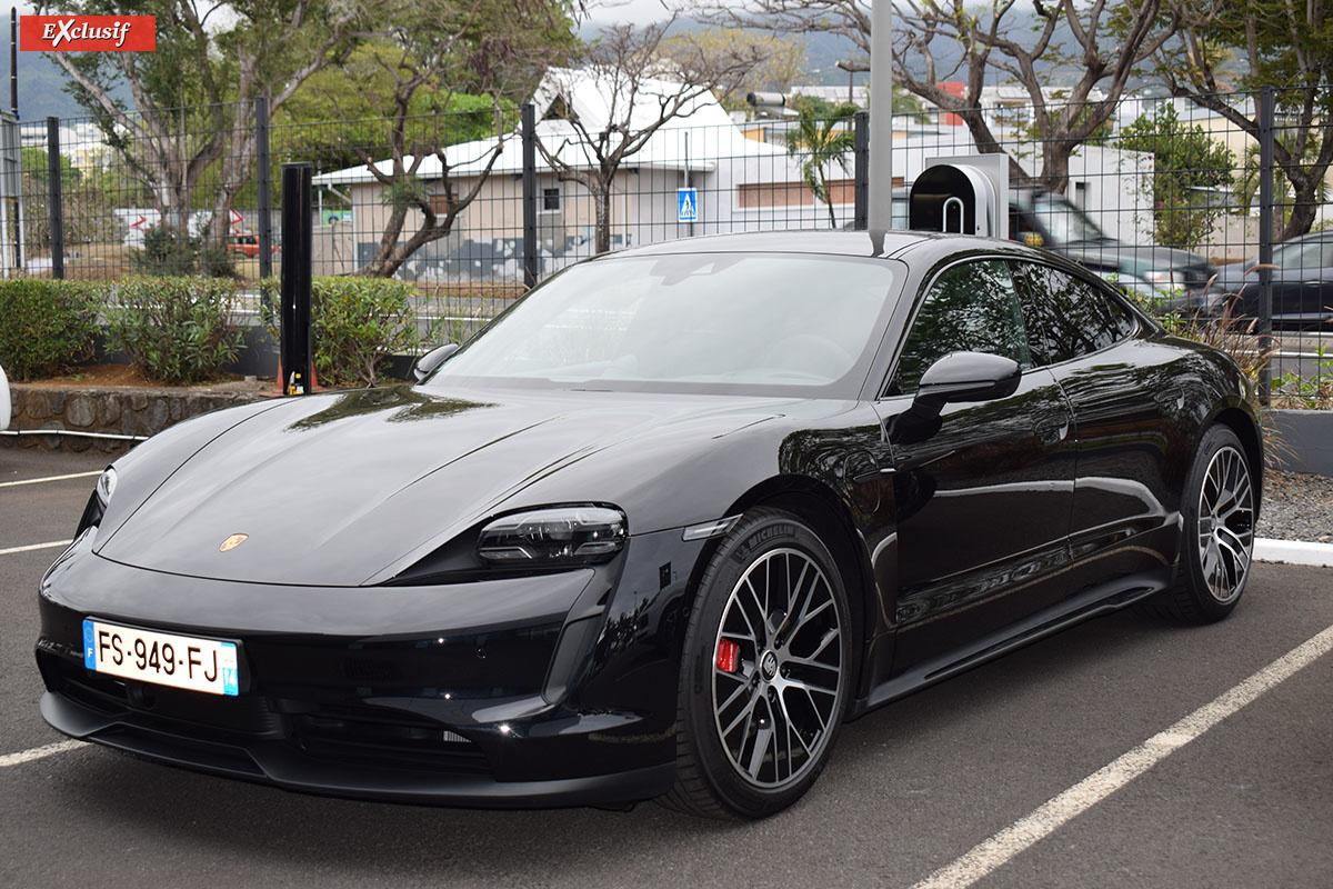 Taycan, la première Porsche électrique d'une longue série à venir...