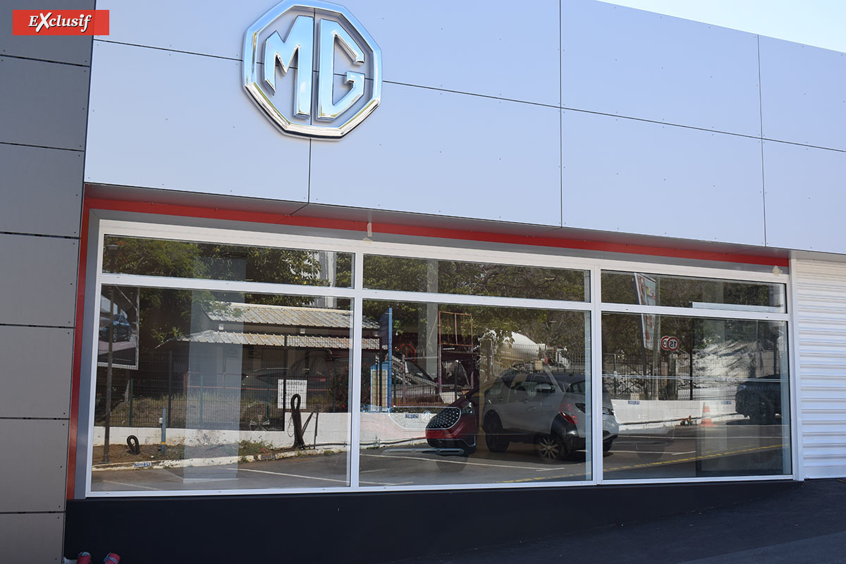 MG: une nouvelle marque automobile débarque à La Réunion