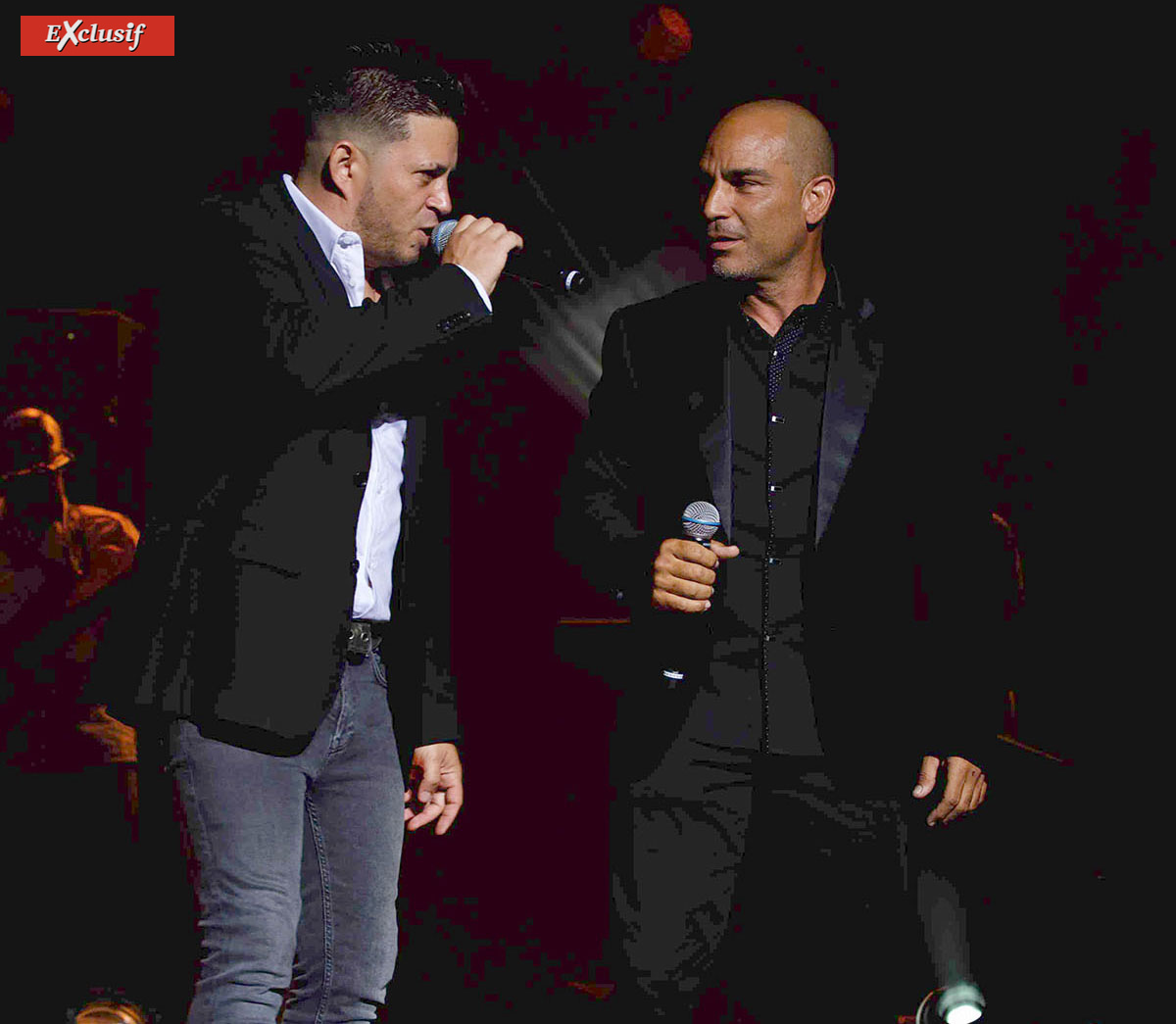 """Héritage"": Laurent Roselli et Jérôme Payet au Téat Plein Air"