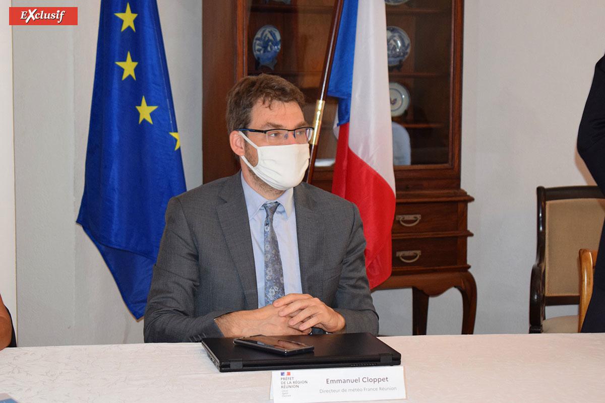 Emmanuel Cloppet, directeur Météo France Réunion