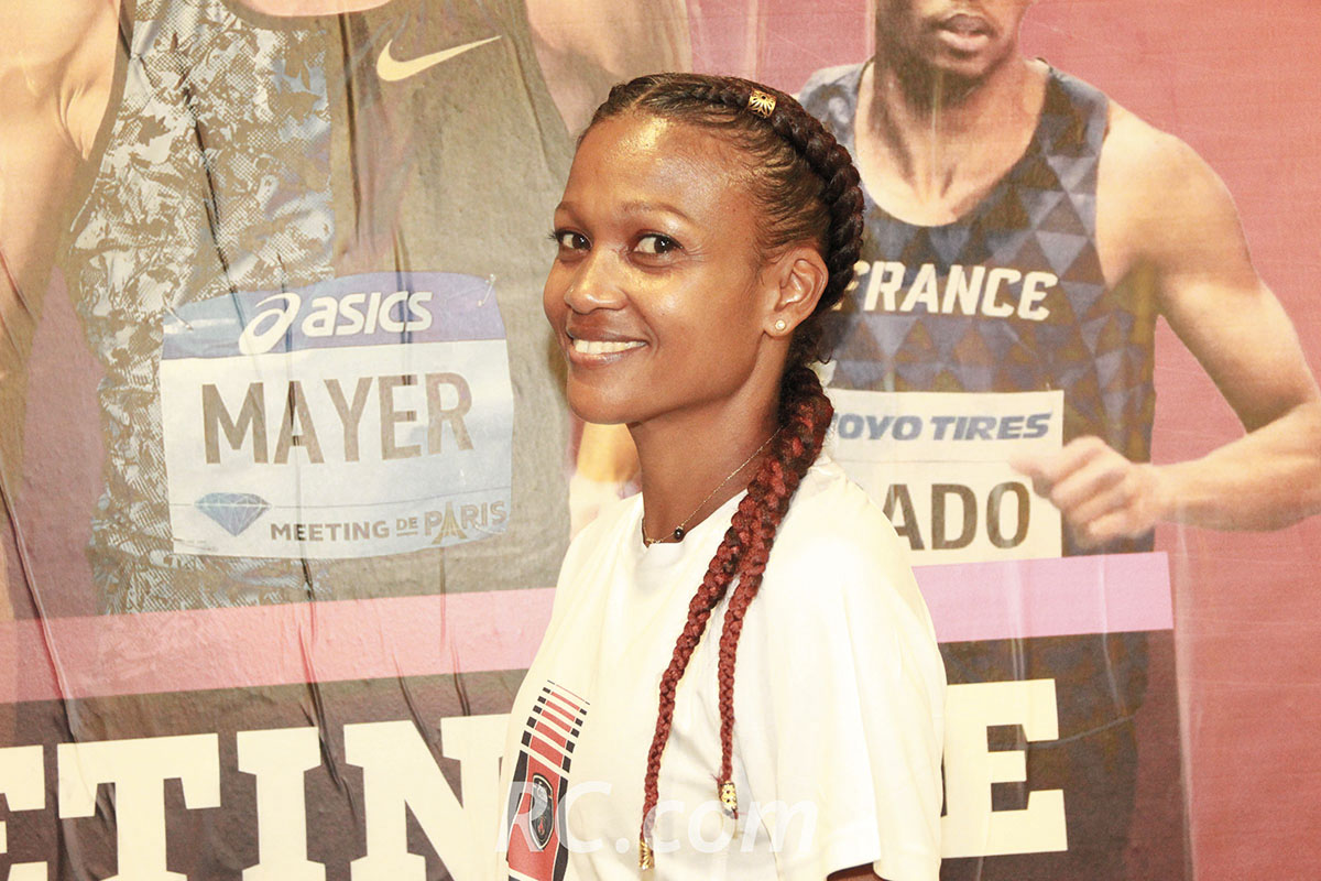 Christine Cavane a participé sur le 1500 mètres