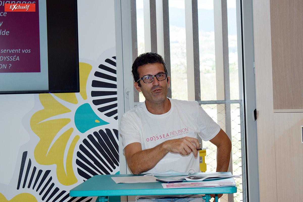 Luc Bizouerne, directeur de Run Odysséa