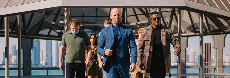 Cinéma: Jason Statham en tournage au Qatar...