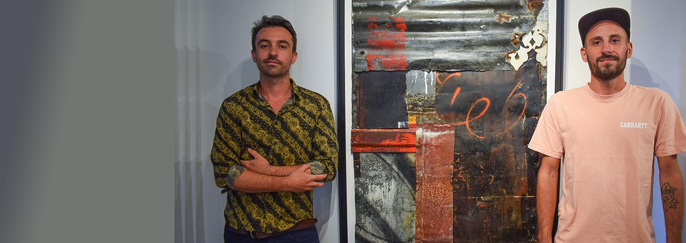Expo: Allias et Repy à la Galerie Very Yes de Jace à Saint-Pierre