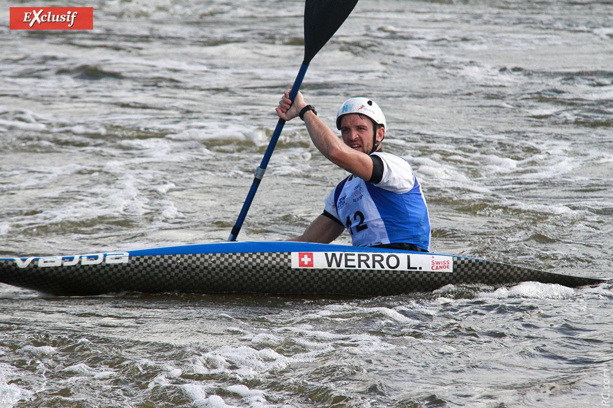 Le Suisse Lukas Werro
