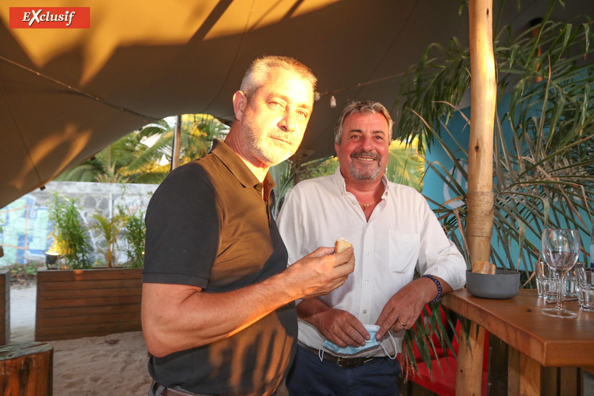 Marc Guilbert, directeur des pièces et services de la branche automobile du groupe Caillé, et Jean-Charles Cotto, directeur d'exploitation JCA Sud