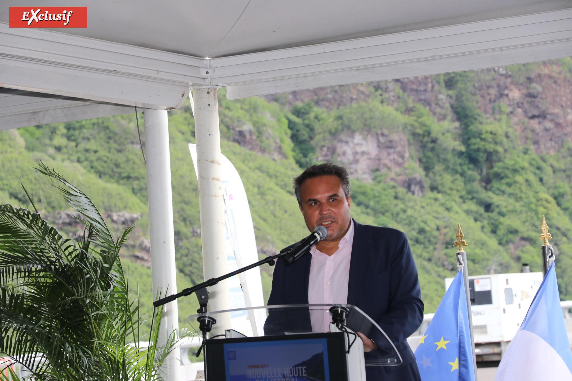 Didier Robert, président de la Région Réunion