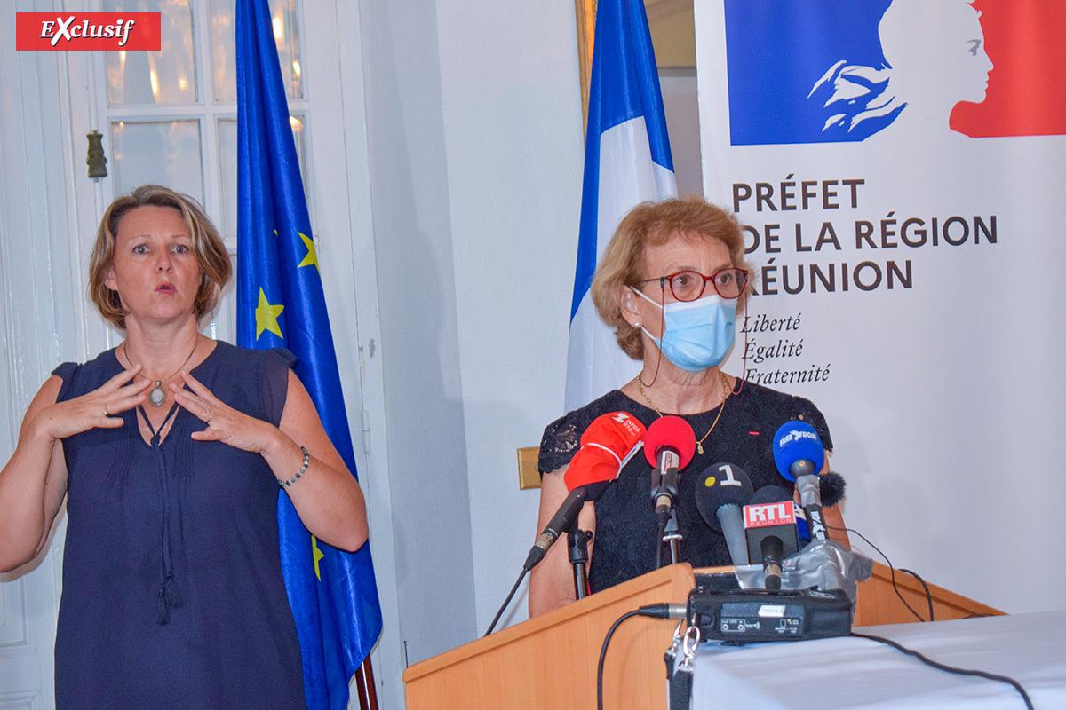 """""""Pas de fermeture d'écoles comme en métropole"""" dit Chantal Manès-Bonnisseau, Rectrice de La Réunion"""