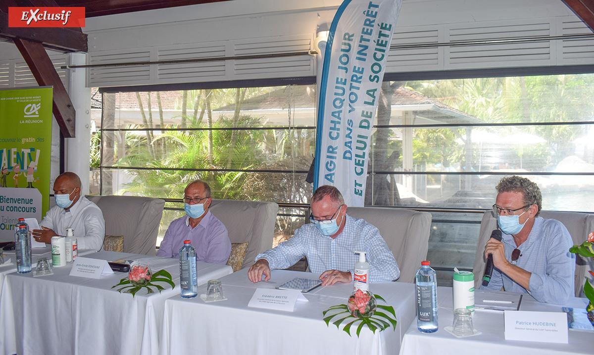 La conférence de presse de présentation des lauréat.e.s