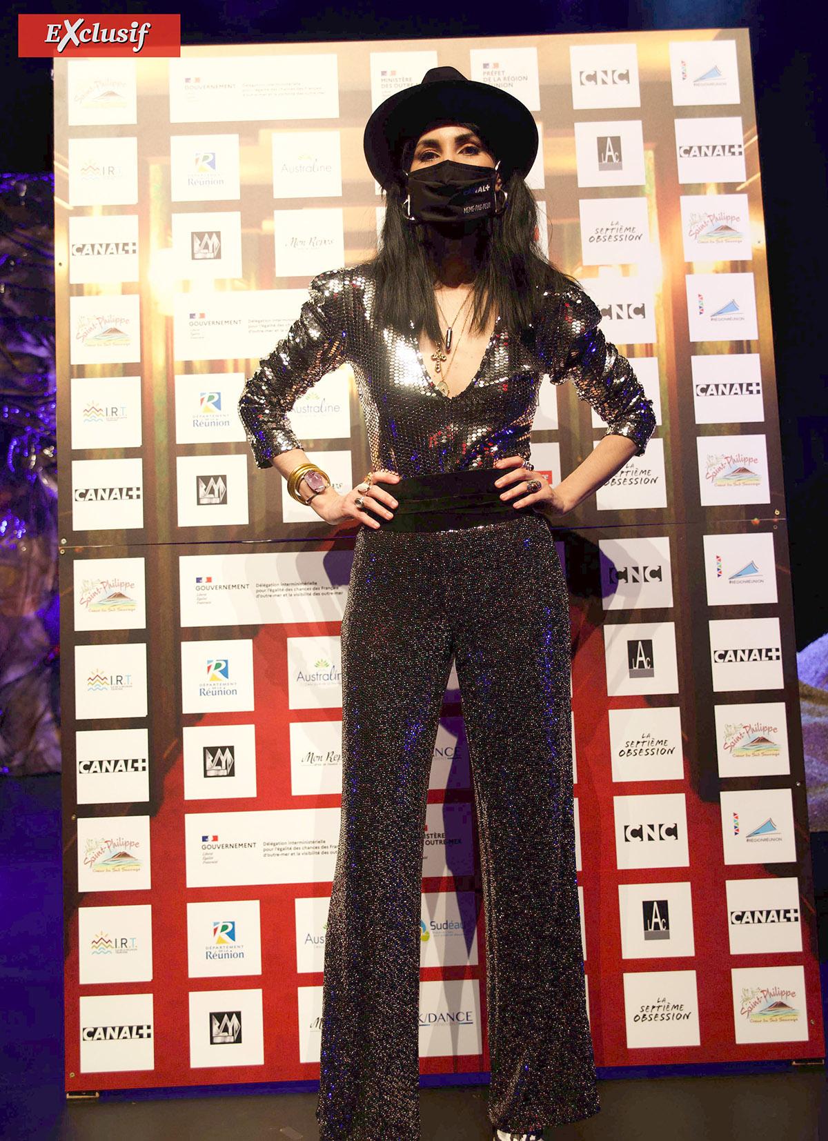 Aurélia Mengin au festival MEME PAS PEUR à Saint-Philippe en février dernier