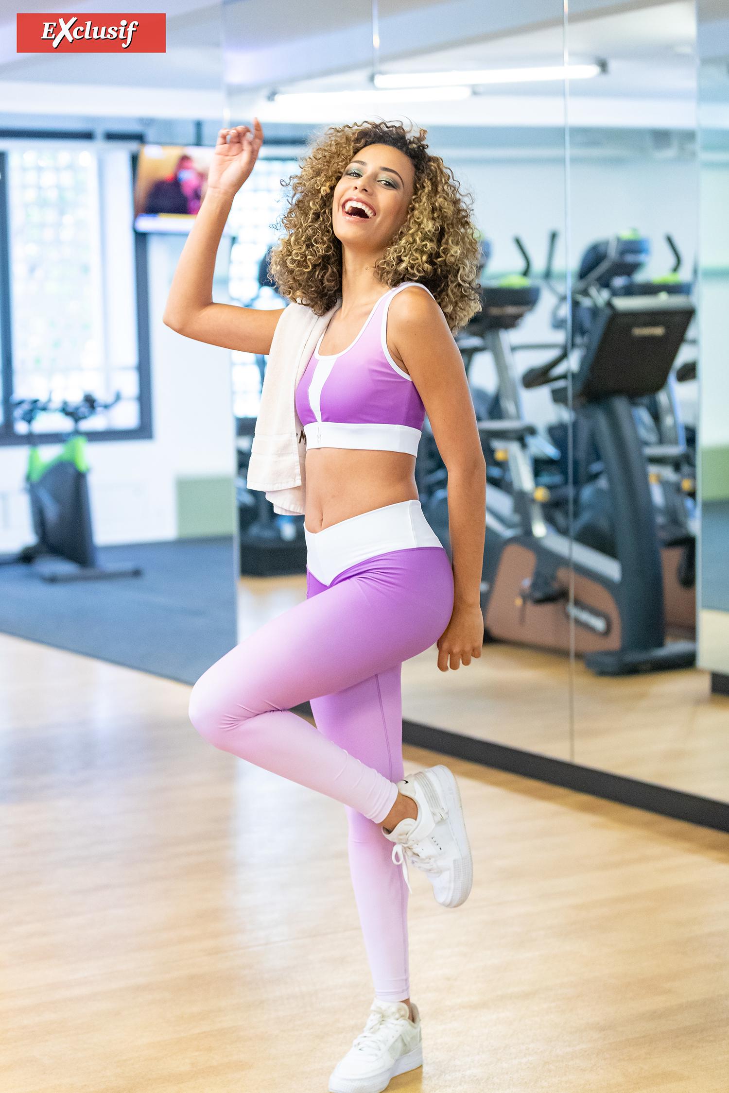 Elle fait du crossfit deux à trois fois par semaine, en alternant avec des séances sport chez Muta Zen