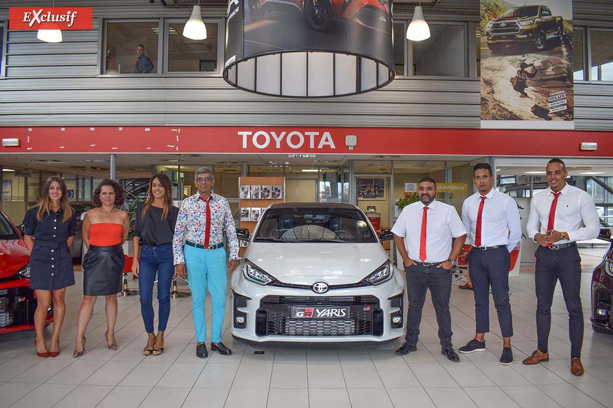L'équipe commerciale Toyota Saint-Denis