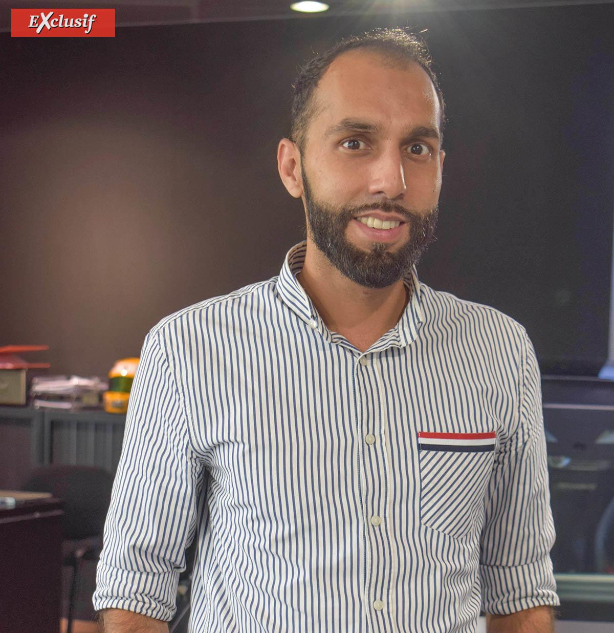 Yassine Bangui, co-gérant AxAutomobiles
