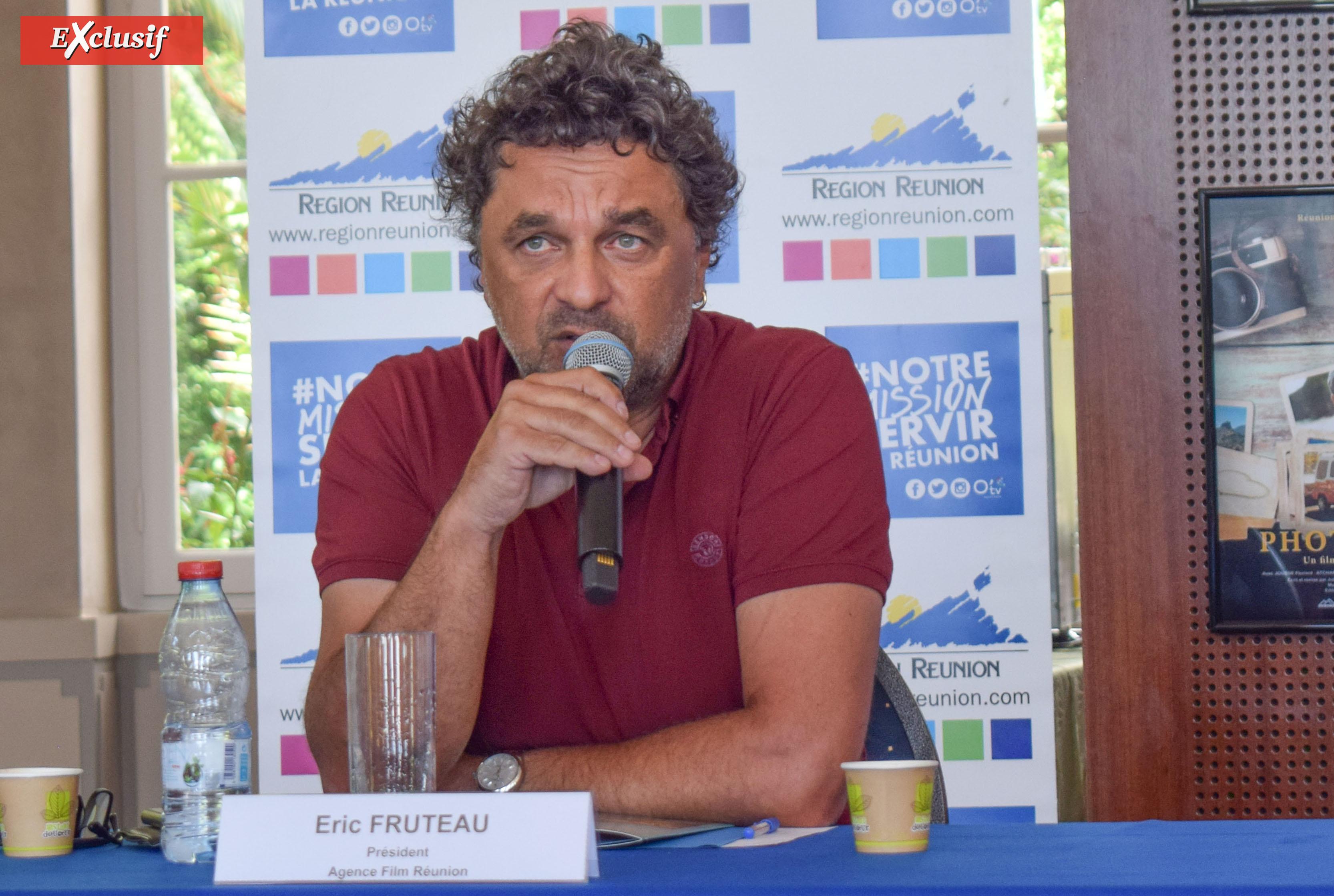 Eric Fruteau, président de l'Agence Film Réunion