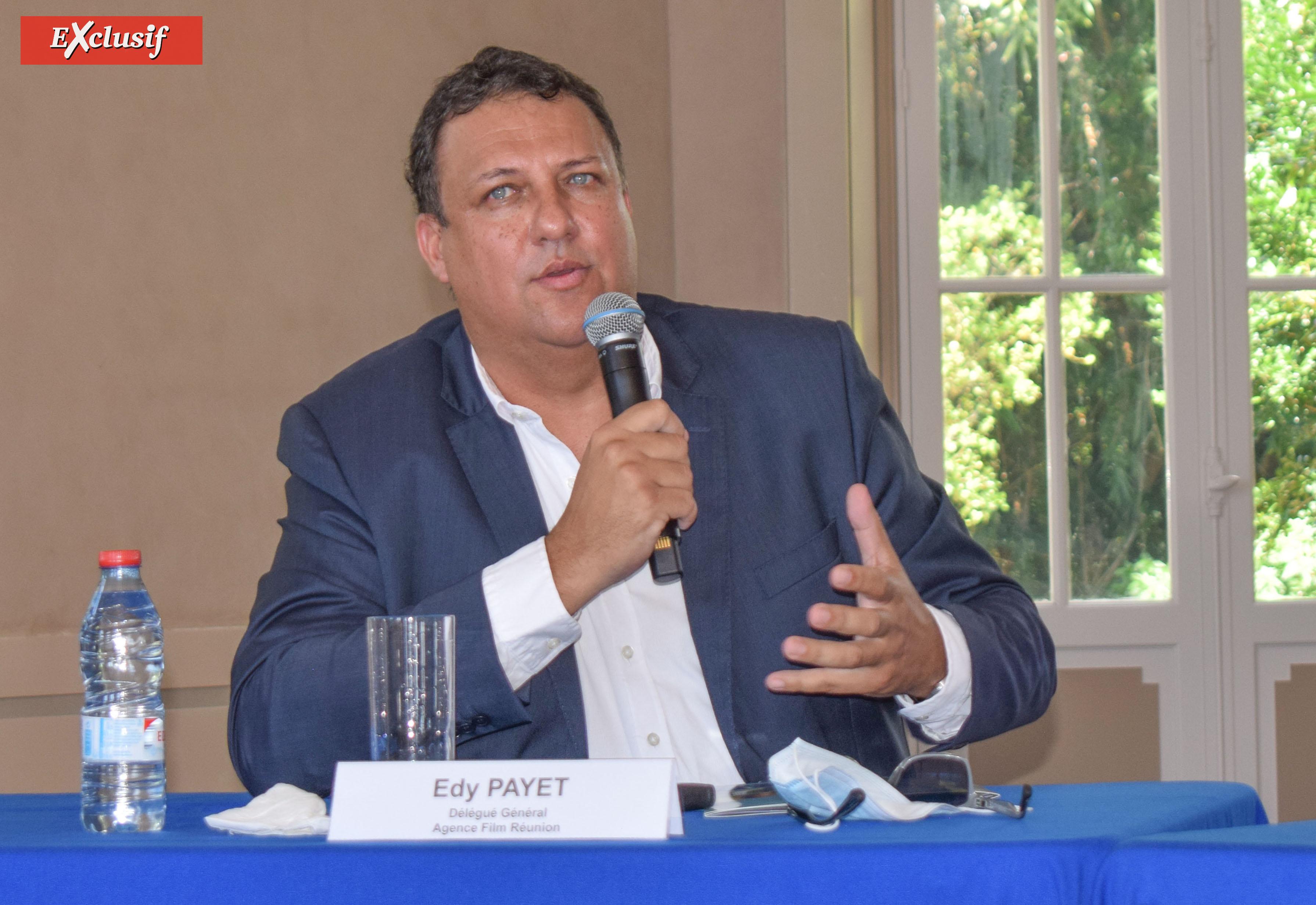 Edy Payet, délégué général Agence Film Réunion