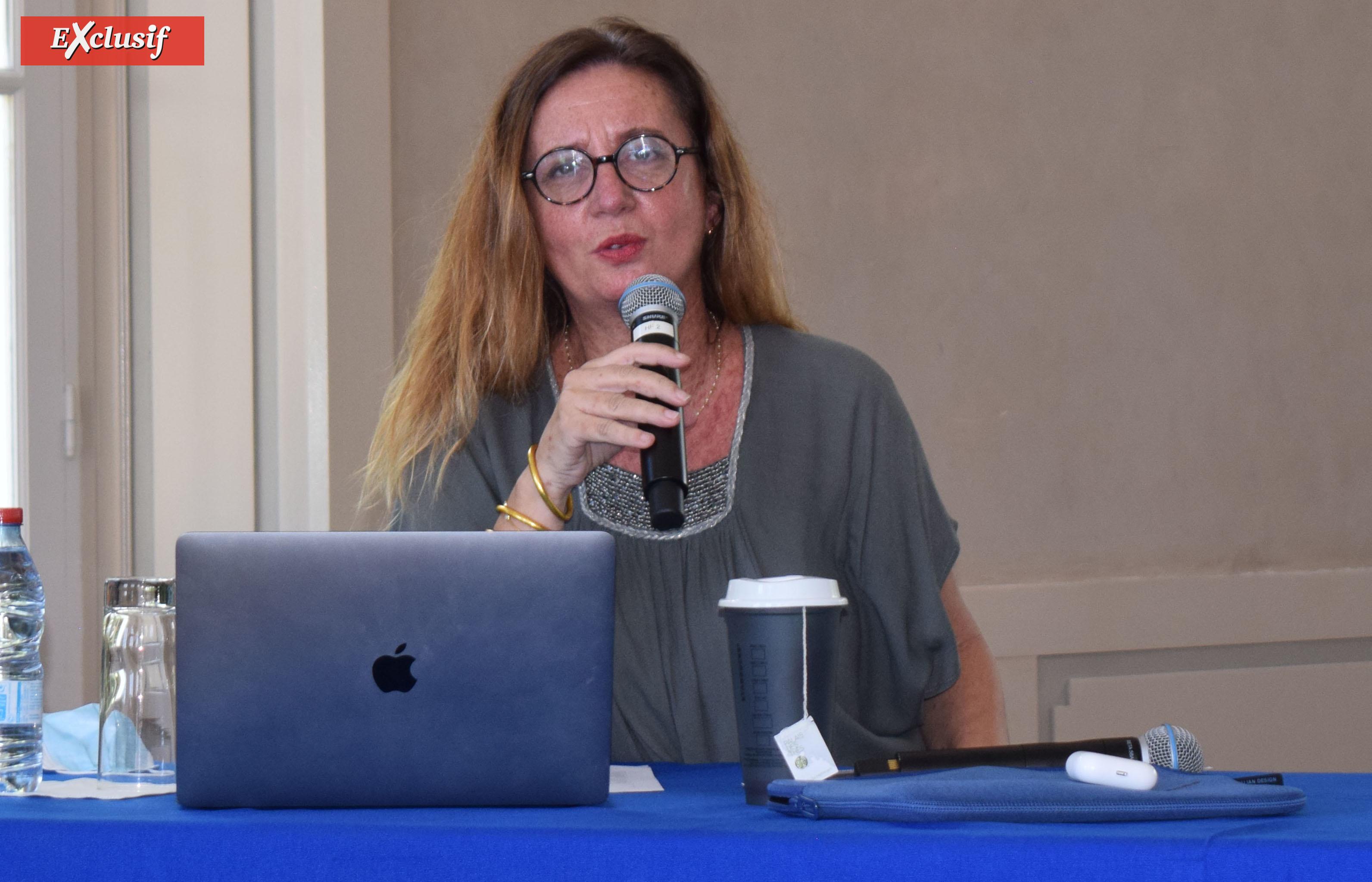 Estelle Jomaron, productrice et coordinatrice de ce projet
