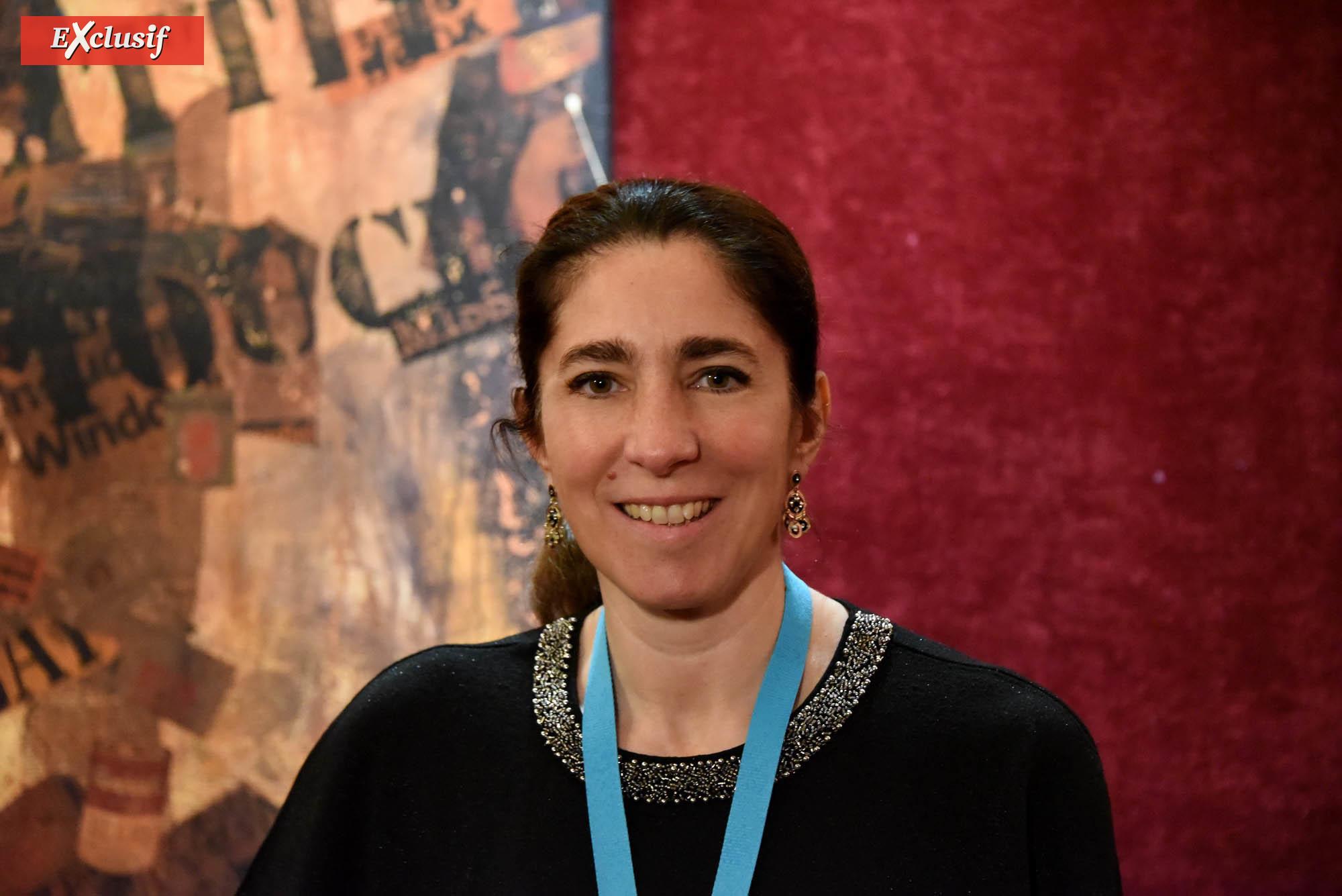 """Agathe Dementhon, fondatrice et secrétaire générale de l'association """"Du Soleil dans ma Mémoire"""""""