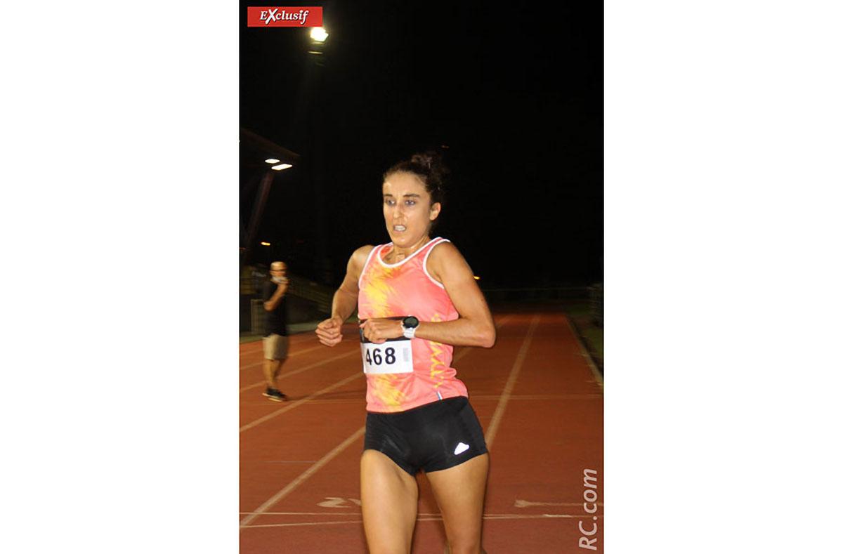 Coline Banbrabur, une belle 2ème place sur le 3000 m