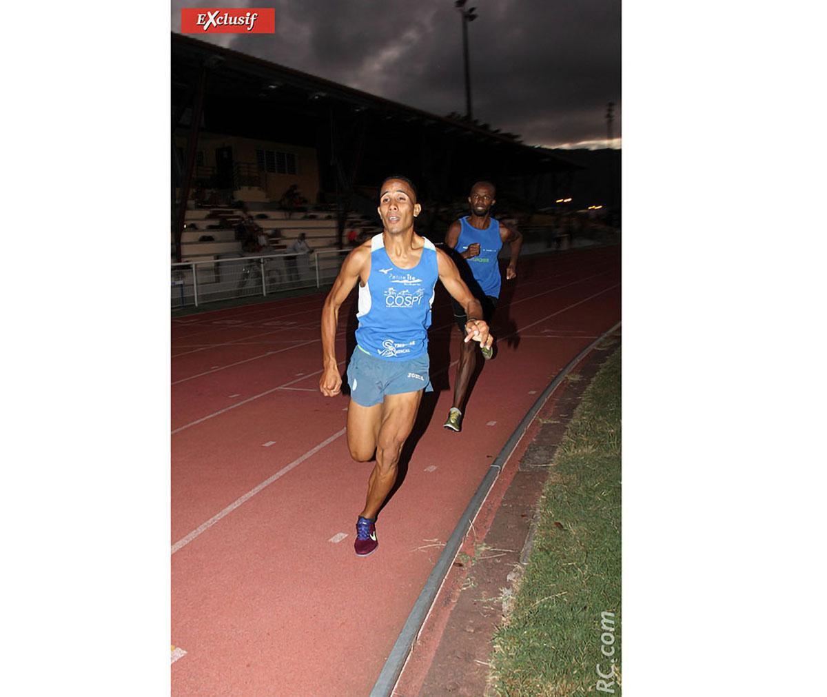 Le duo Didier Barret/Mohamed Houssamoudine en tête du 3000 m
