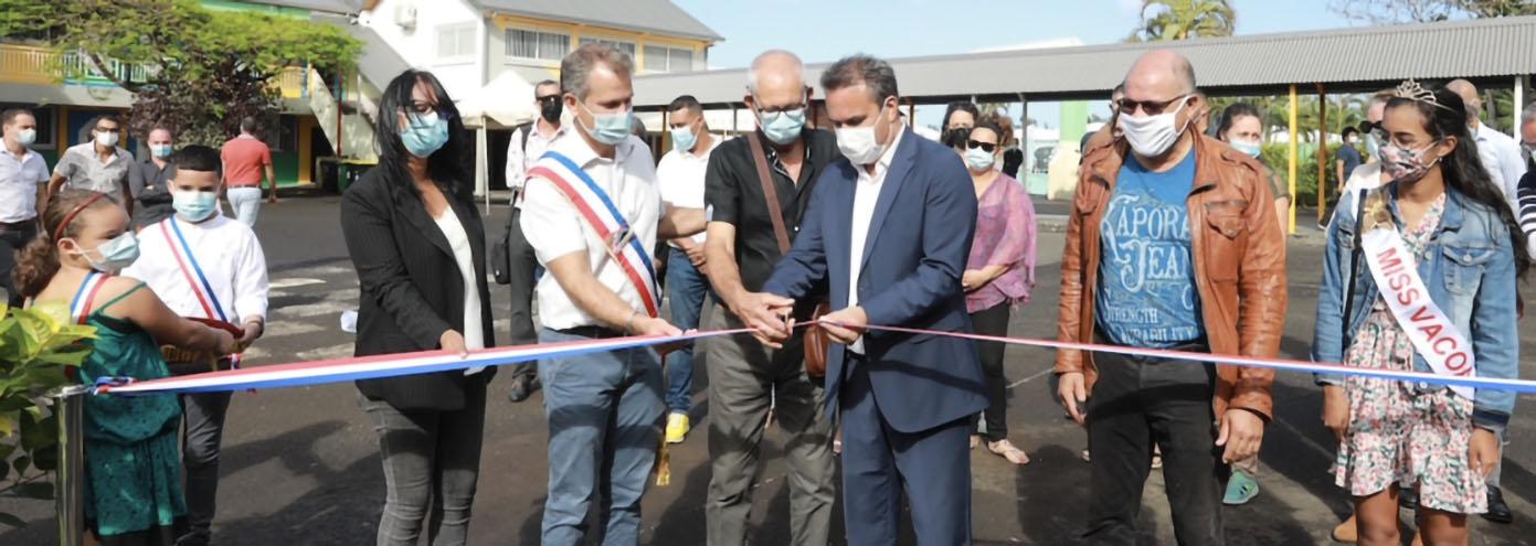Une double inauguration à Saint-Philippe