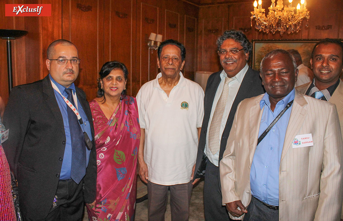 Anerood Jugnauth disparu: il avait reçu une délégation réunionnaise en 2012
