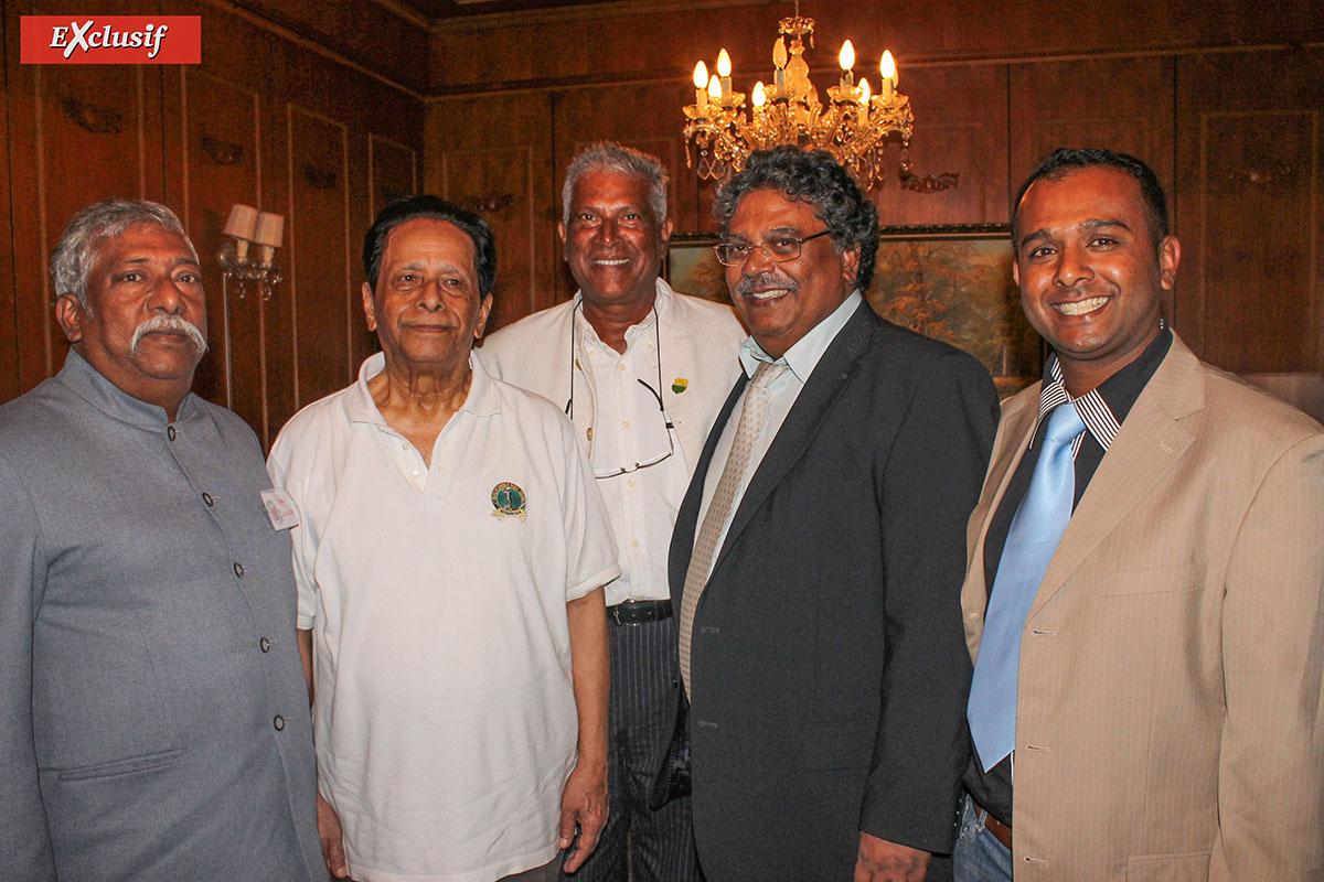 Avec la délégation réunionnaise