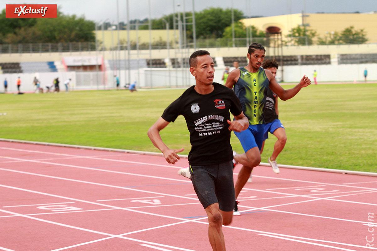 Benjamin Atia réalise une belle perf sur le 100m