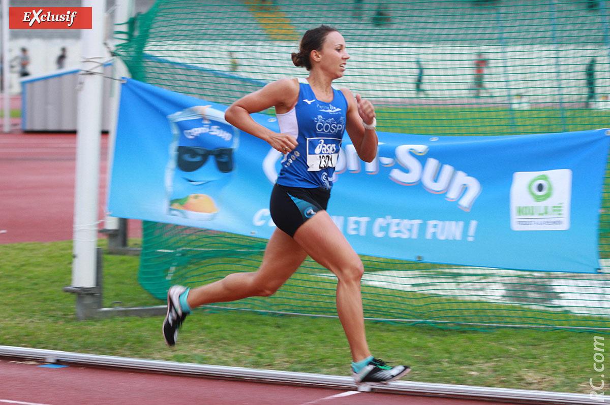 4'43'', meilleure performance 2021 sur le 1500m pour Emma Métro. Un chrono qui risque encore de bouger...