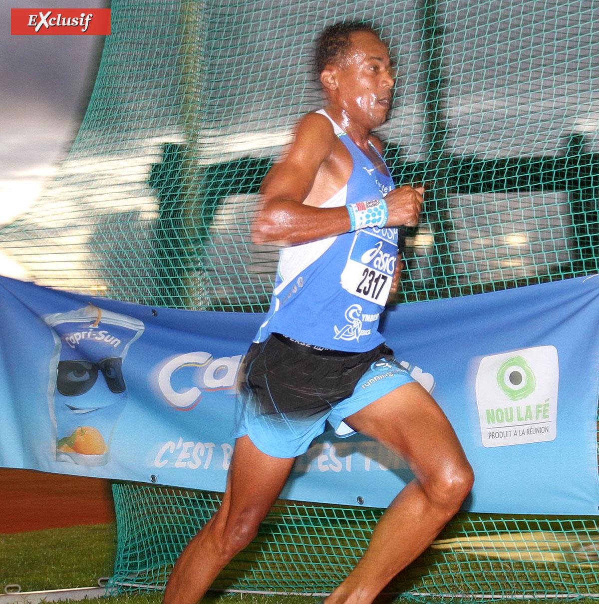 Le retour victorieux de Ulric Balzanet sur le 5000m
